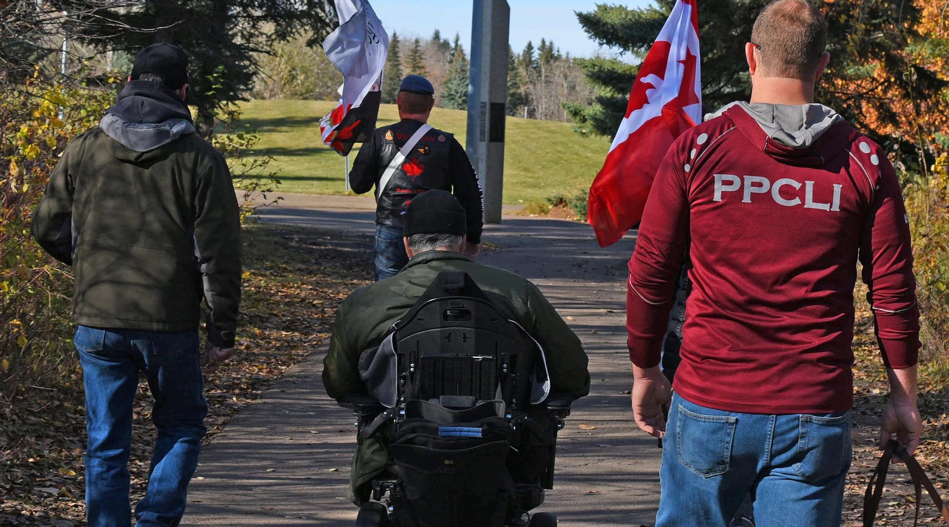 Marche canadienne pour les vétérans