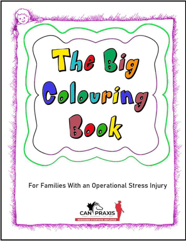 Can Praxis Coloring Book